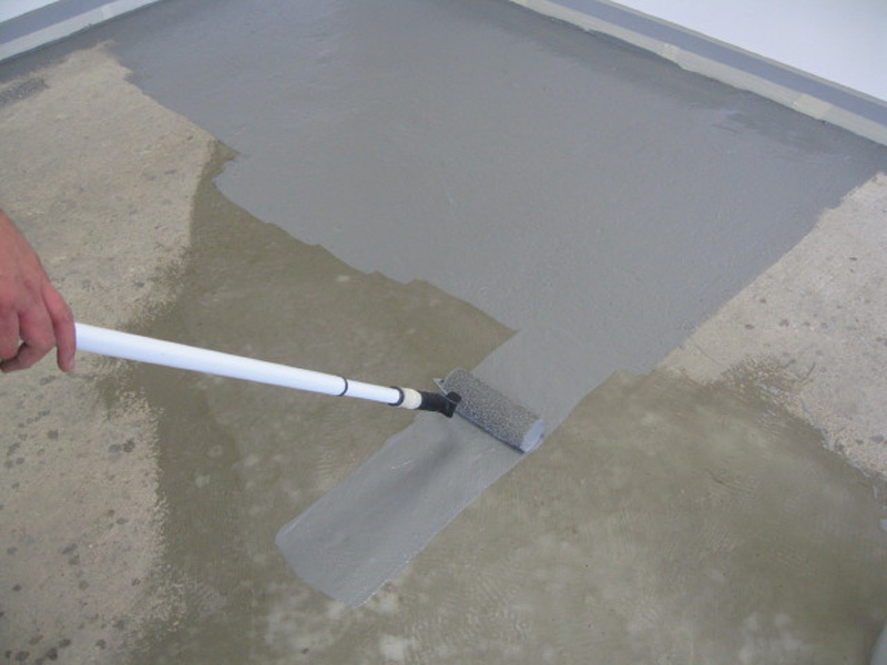 Renotex for Can i paint a concrete floor